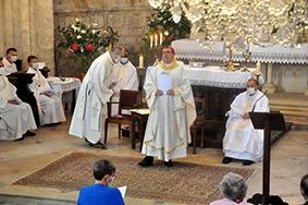Ordination diaconale Jean-François Vinchant – La Ferté-Alais, dimanche 21 juin 2020