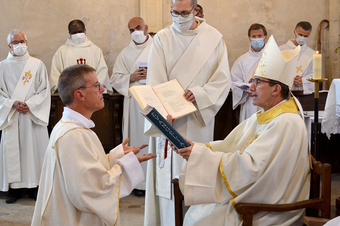 Ordination diaconale de Jean-François Vinchant