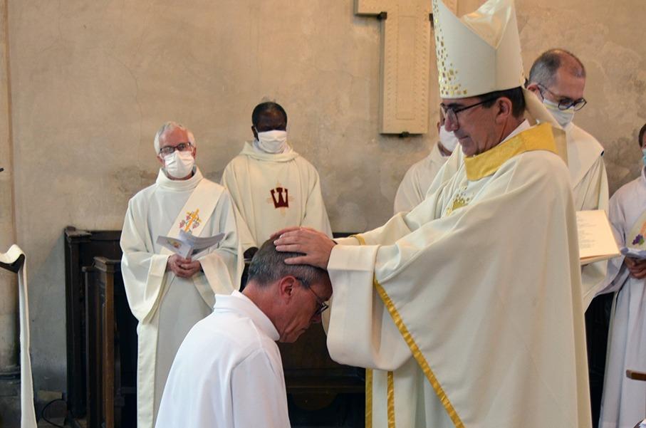 Ordination diaconale de Pierre NOVIKOFF