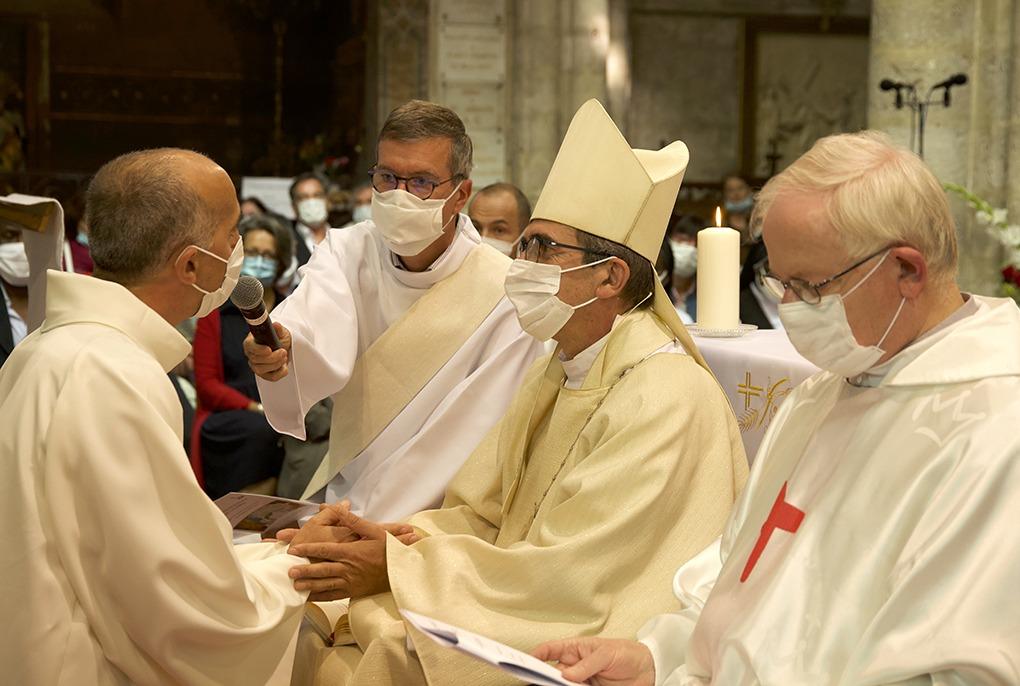 Ordination diaconale d'Éric CHARRON