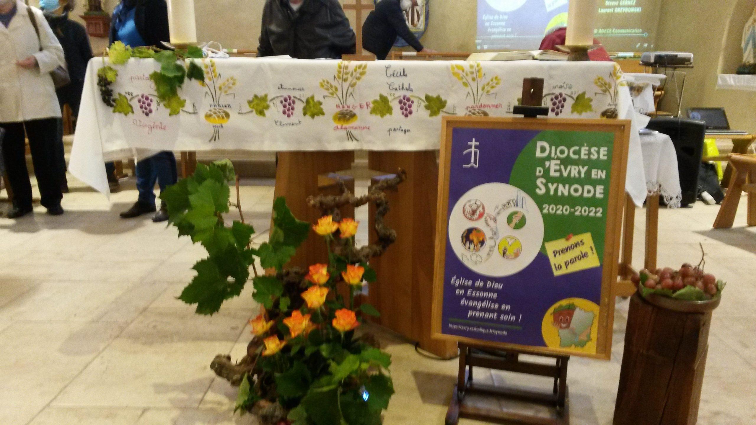 Lancement du synode à Bondoufle