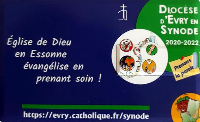 une clé USB pour le synode