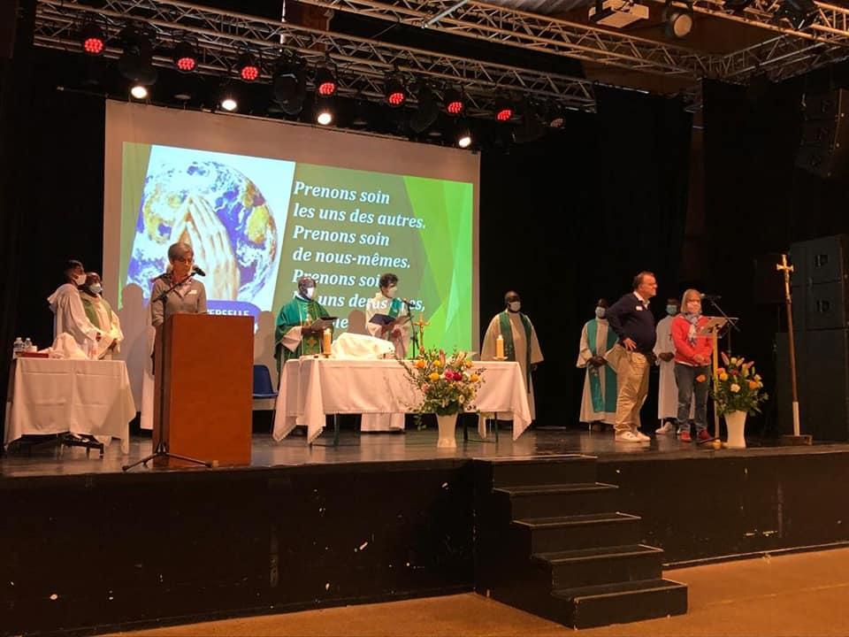Lancement du Synode à Vigneux
