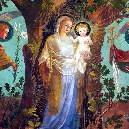 Fête de l'Assomption de la Vierge Marie à Longpont-sur-Orge
