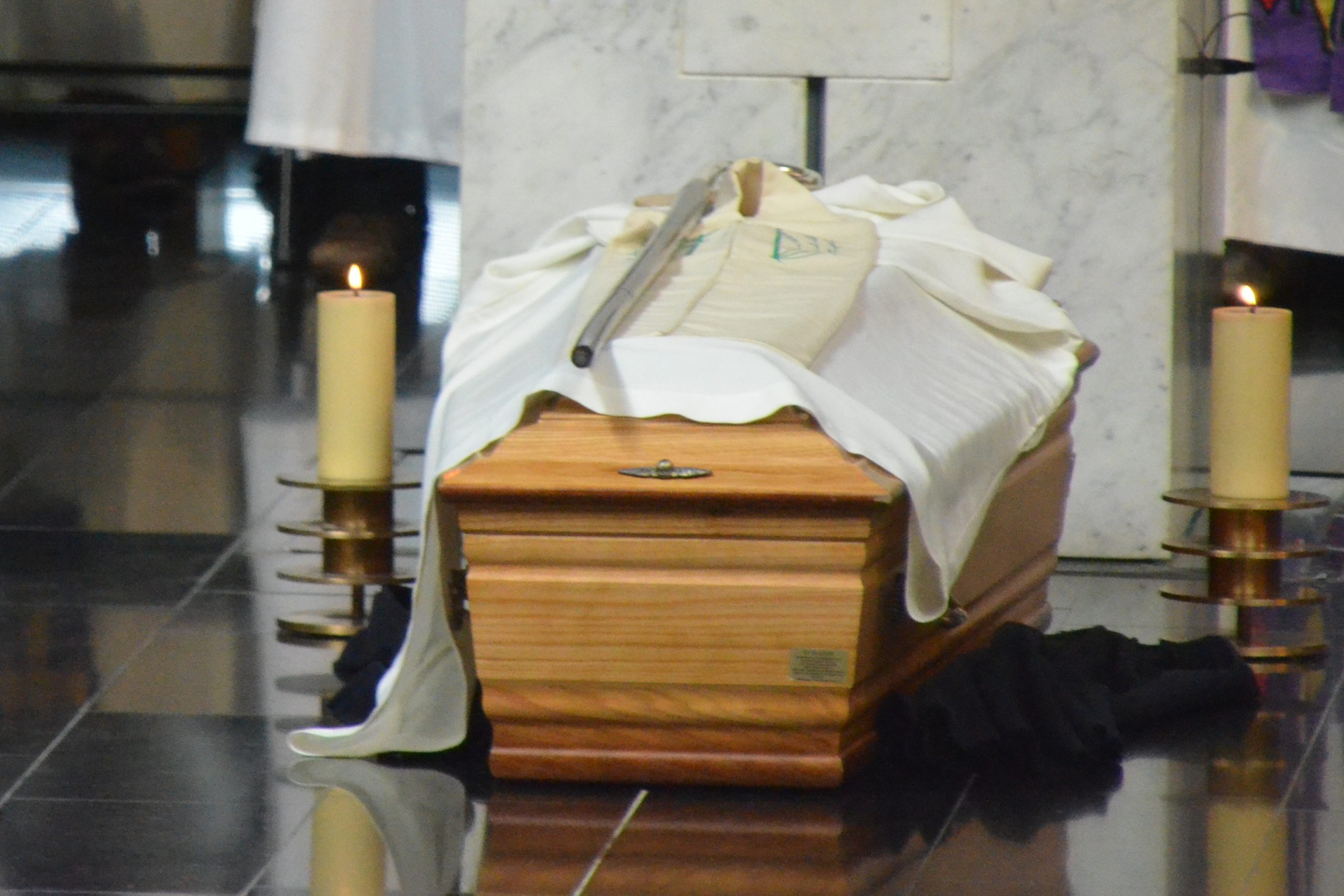 Obsèques de Mgr Guy Herbulot