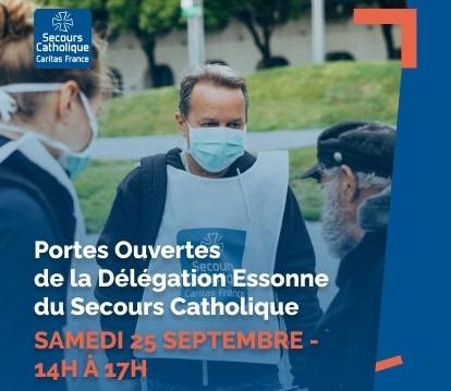 Portes ouvertes de la Délégation Essonne du Secours Catholique